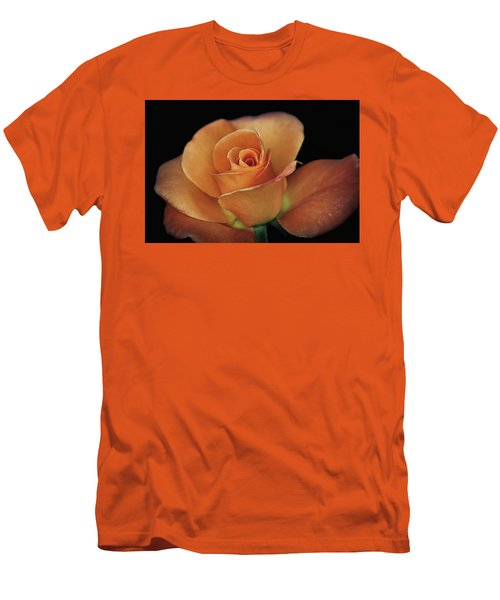 Orange Cream Men's T-Shirt (Slim Fit) by Elaine Malott
