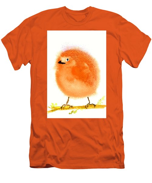 Orange Fluff Men's T-Shirt (Athletic Fit)