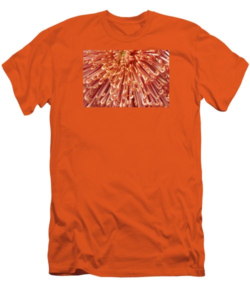 Orange Mum Men's T-Shirt (Athletic Fit)