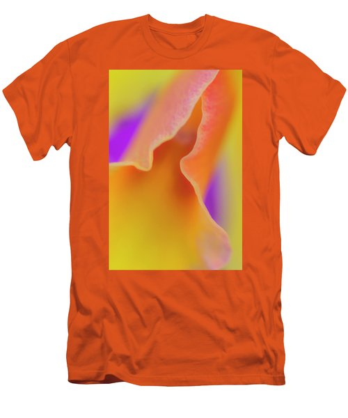 Orange Orchid Men's T-Shirt (Athletic Fit)