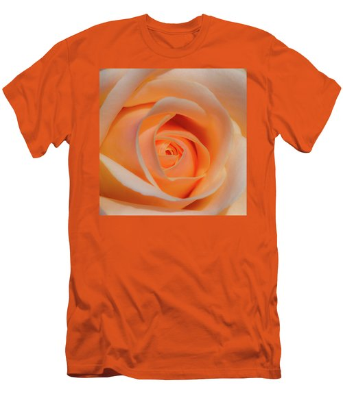 Orange Rose Men's T-Shirt (Athletic Fit)