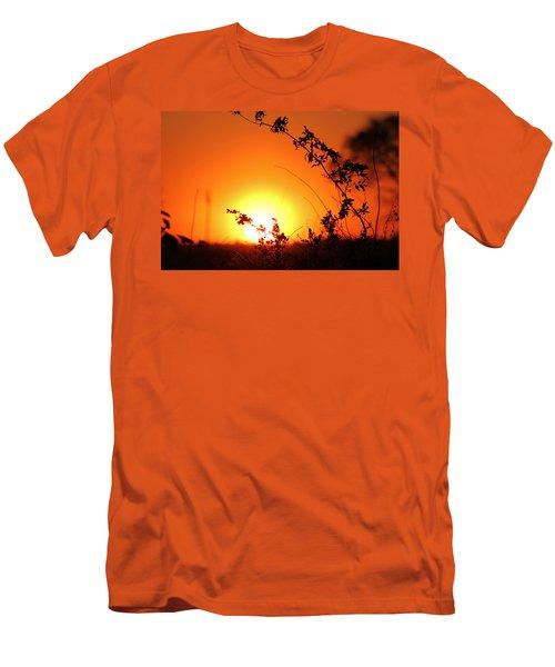 Orange Wonder Men's T-Shirt (Athletic Fit)
