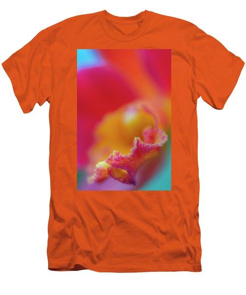 Orchid Detail Men's T-Shirt (Athletic Fit)