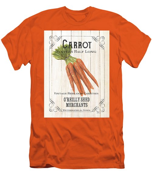 Men's T-Shirt (Slim Fit) featuring the painting Organic Seed Packet 2 by Debbie DeWitt