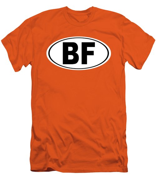 Oval Bf Beaver Falls Pennsylvania Home Pride Men's T-Shirt (Athletic Fit)