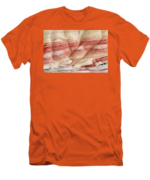 Men's T-Shirt (Slim Fit) featuring the photograph Painted Hill Bumps by Greg Nyquist
