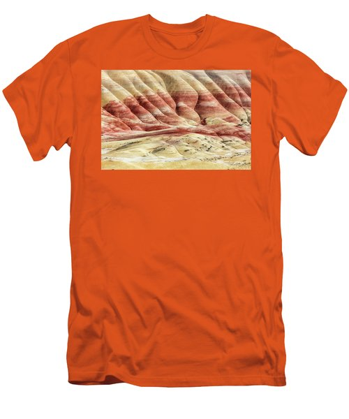 Painted Hills Landscape Men's T-Shirt (Slim Fit) by Pierre Leclerc Photography