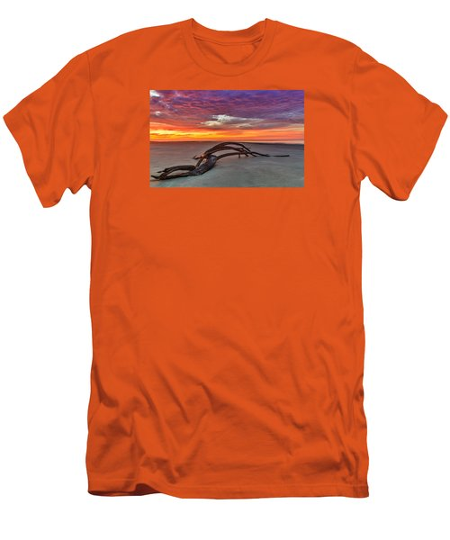 Painted Sky - Sullivan's Island Sc Men's T-Shirt (Athletic Fit)