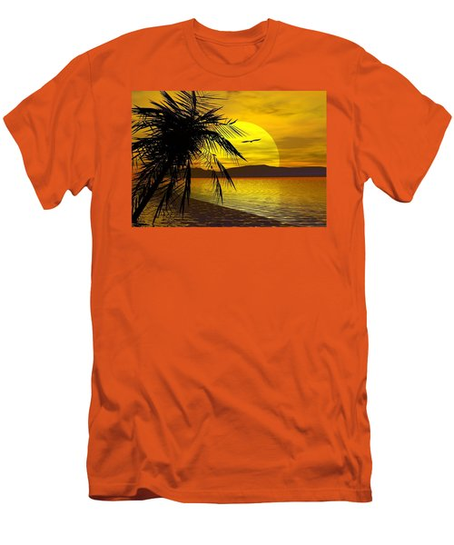 Palm Beach Men's T-Shirt (Athletic Fit)