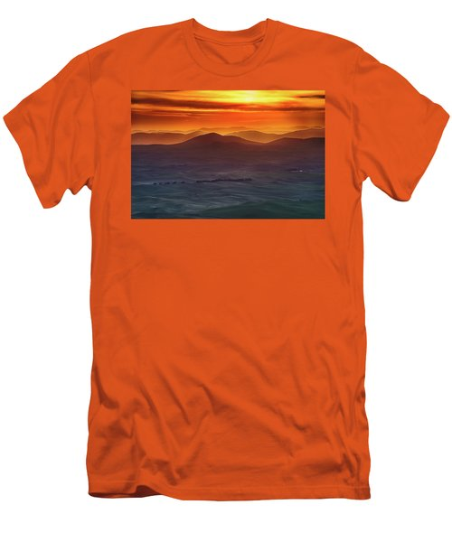 Palouse Sunrise  Men's T-Shirt (Athletic Fit)