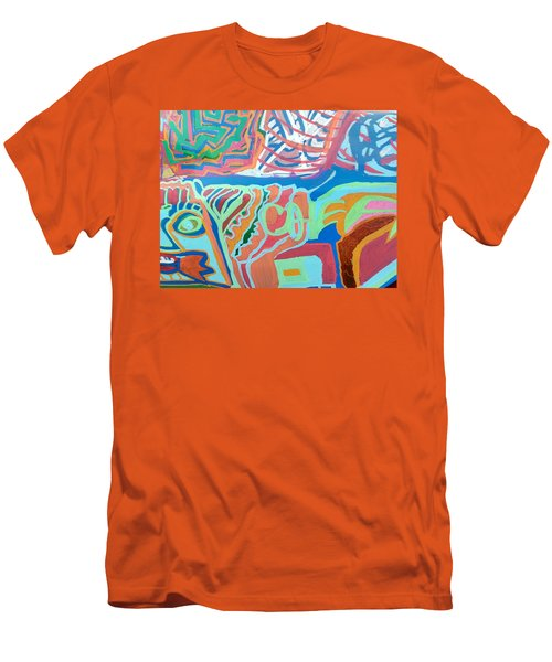 Panel On Hand Painted Ford Mondeo Men's T-Shirt (Athletic Fit)