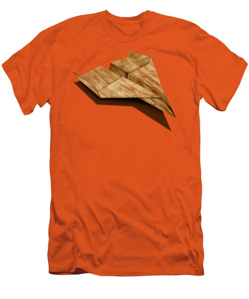Paper Airplanes Of Wood 5 Men's T-Shirt (Slim Fit) by YoPedro
