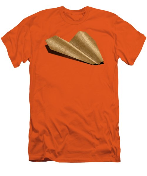 Paper Airplanes Of Wood 6 Men's T-Shirt (Slim Fit) by YoPedro