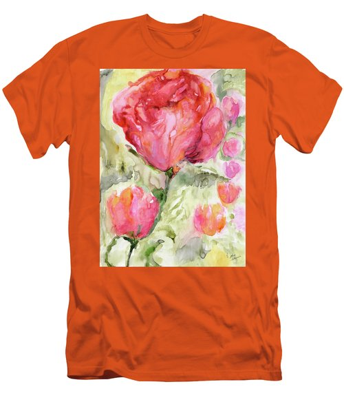 Paper Flowers Men's T-Shirt (Athletic Fit)