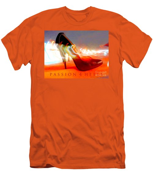 Men's T-Shirt (Slim Fit) featuring the photograph Passion For Heels by Don Pedro De Gracia