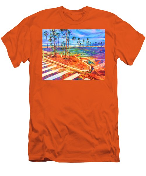 Paved Paradise Men's T-Shirt (Slim Fit) by Bonnie Lambert