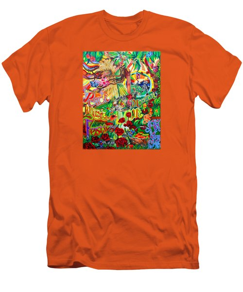 Peach Music Festival 2015 Men's T-Shirt (Slim Fit) by Kevin J Cooper Artwork