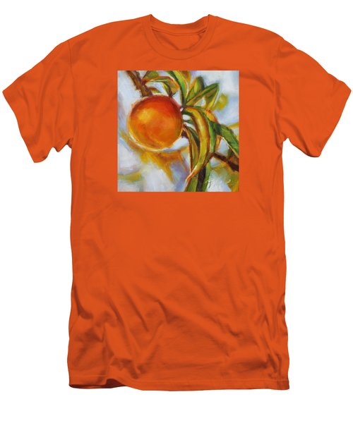Peach Men's T-Shirt (Slim Fit) by Tracy Male