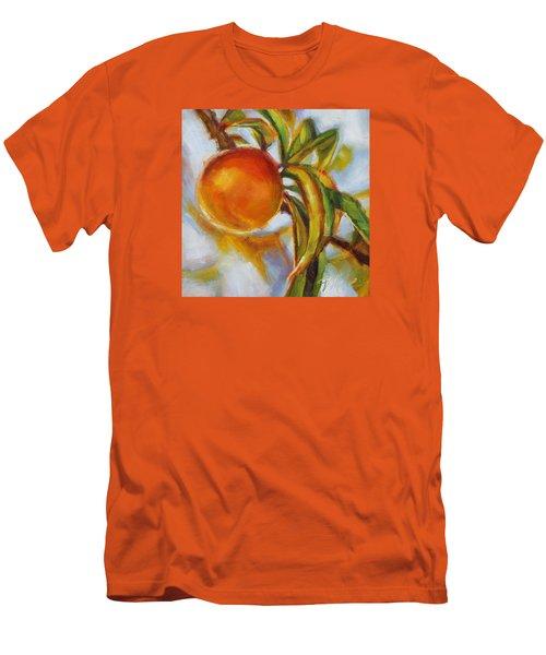 Peach Men's T-Shirt (Athletic Fit)