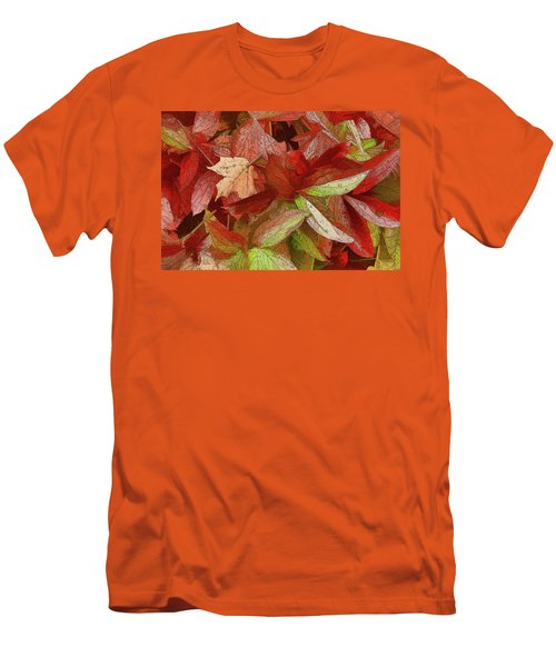 Peony Farewell Men's T-Shirt (Slim Fit) by Betsy Zimmerli