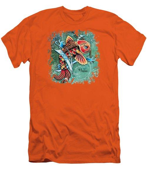 Perseverance Men's T-Shirt (Slim Fit) by Maria Arango