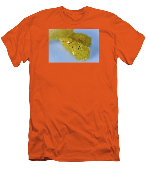 Persian Saffron Rock Sugar Men's T-Shirt (Slim Fit) by Sabine Edrissi