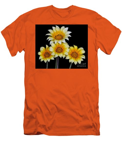 Peruvian Daisies Men's T-Shirt (Slim Fit) by Shirley Mangini