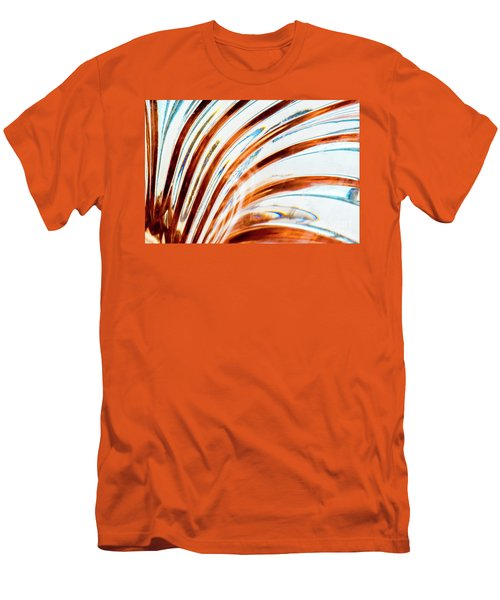 Men's T-Shirt (Athletic Fit) featuring the photograph Petals Of Glass by Wendy Wilton