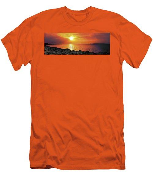 Petoskey Sunset Men's T-Shirt (Athletic Fit)
