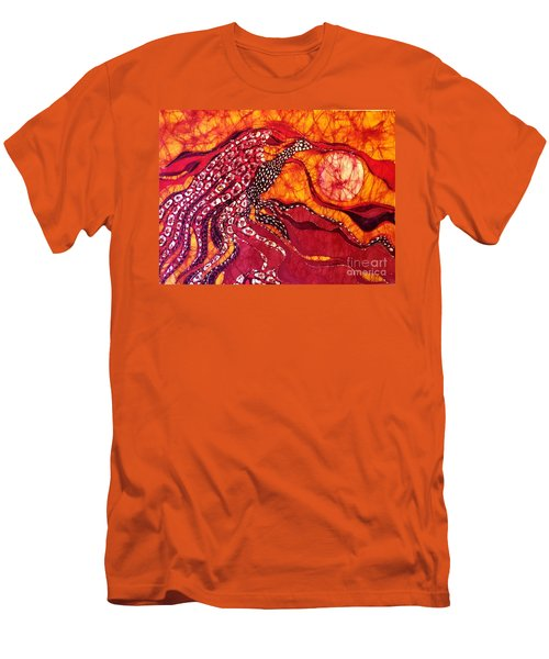 Phoenix Sweeps The Earth Men's T-Shirt (Athletic Fit)