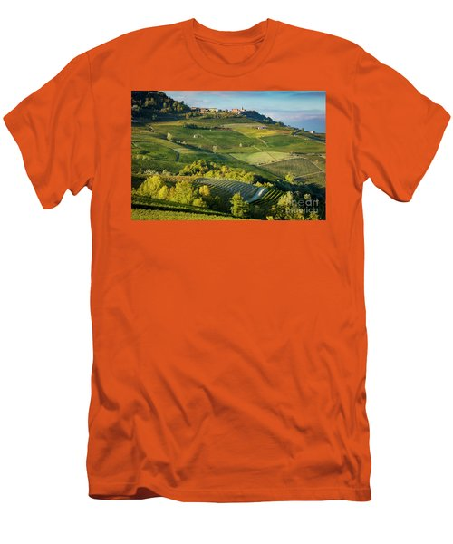 Men's T-Shirt (Slim Fit) featuring the photograph Piemonte Countryside by Brian Jannsen