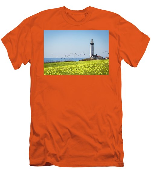 Pigeon Point Light Station Historic Park Men's T-Shirt (Athletic Fit)