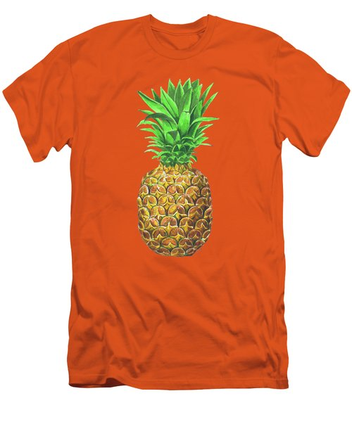 Pineapple, Tropical Fruit Men's T-Shirt (Athletic Fit)