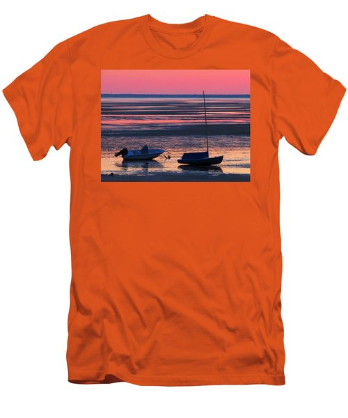 Men's T-Shirt (Slim Fit) featuring the photograph Pink Dawn by Dianne Cowen