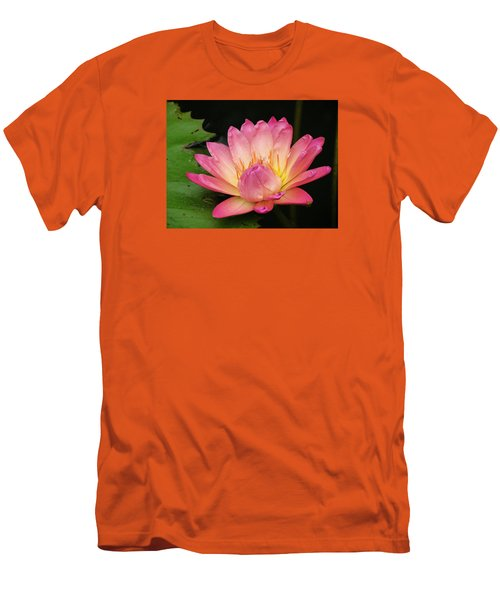 Pink Lily 1 Men's T-Shirt (Athletic Fit)