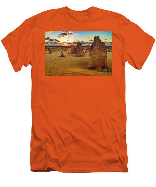 Pinnacles 8 Men's T-Shirt (Athletic Fit)