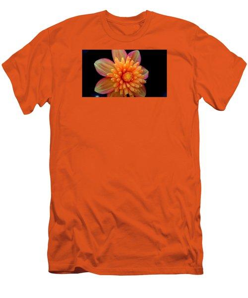Point Defiance Dahlia Men's T-Shirt (Slim Fit) by Karen Molenaar Terrell