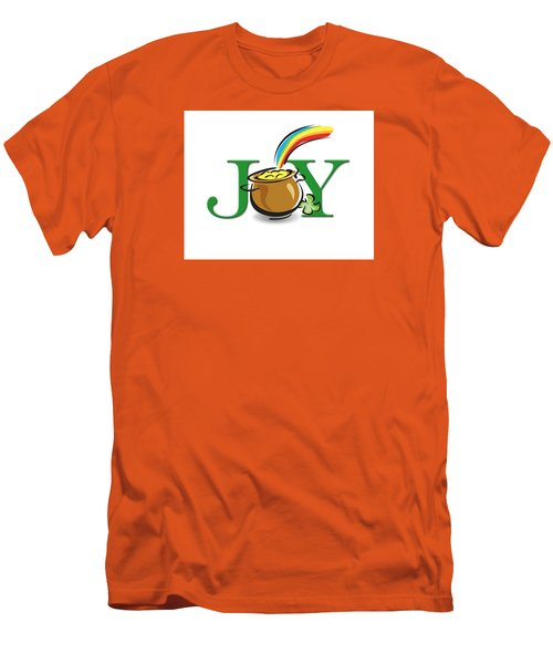 Pot Of Gold Joy Men's T-Shirt (Athletic Fit)