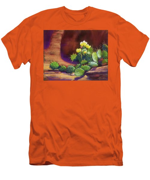 Pricklies On A Ledge Men's T-Shirt (Athletic Fit)