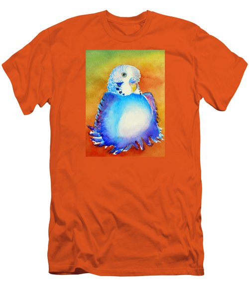 Pudgy Budgie Men's T-Shirt (Athletic Fit)