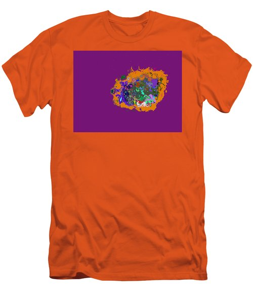 Puff Of Color Men's T-Shirt (Athletic Fit)