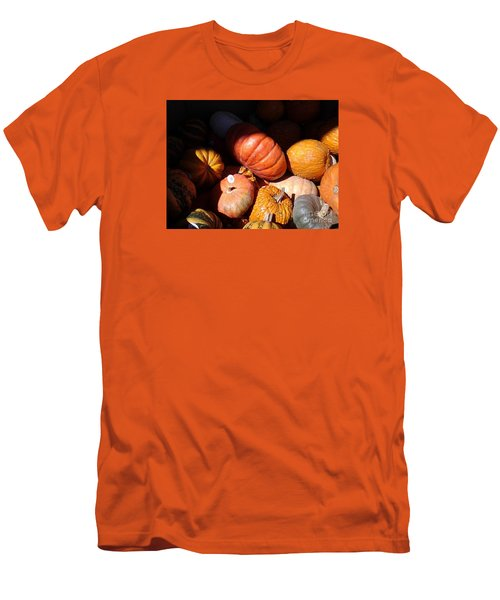 Men's T-Shirt (Slim Fit) featuring the photograph Punkin Patch by Fred Wilson