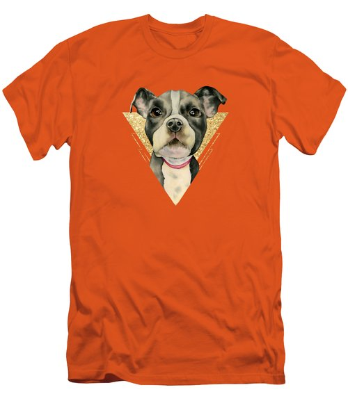 Puppy Eyes 3 Men's T-Shirt (Athletic Fit)