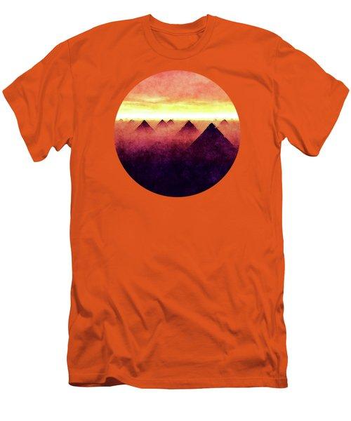 Pyramids At Sunrise Men's T-Shirt (Slim Fit) by Phil Perkins