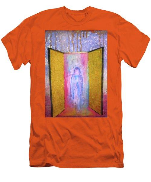 Queen Of Heaven Men's T-Shirt (Athletic Fit)