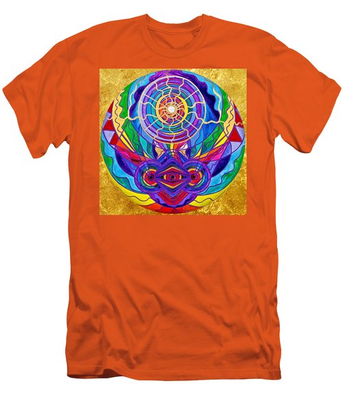 Raise Your Vibration Men's T-Shirt (Slim Fit)