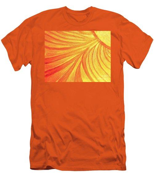 Rays Of Healing Light Men's T-Shirt (Slim Fit) by Rachel Hannah