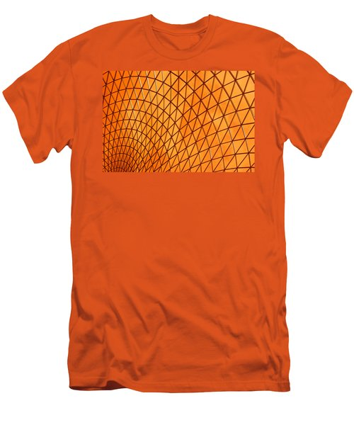 Orange Glow Men's T-Shirt (Slim Fit) by Elvira Butler