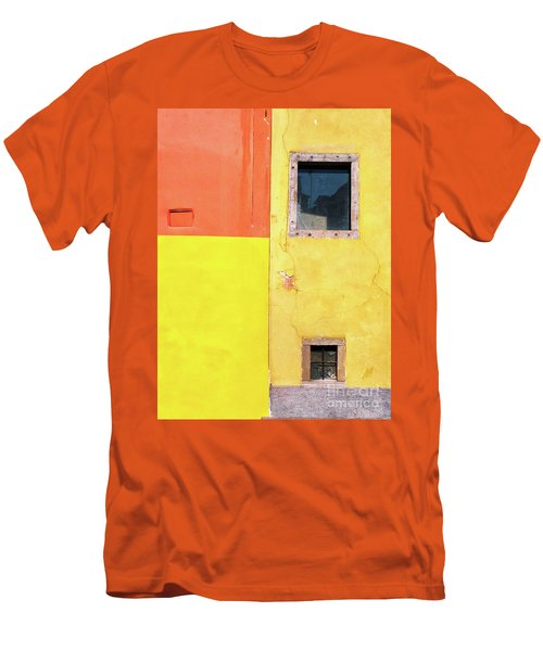 Men's T-Shirt (Athletic Fit) featuring the photograph Rectangles by Silvia Ganora