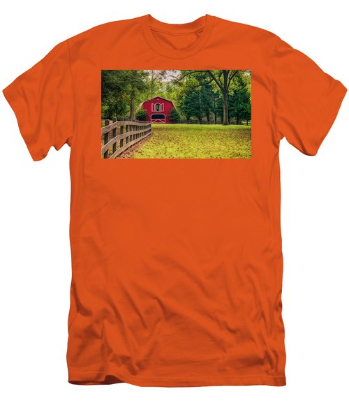 Red Barn 2 Men's T-Shirt (Athletic Fit)